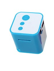 MP3 No Screen Card Player Cartoon Small Cubes Cute Mini MP3 Student Movement