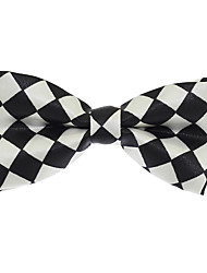 Baby Kids Jacquard Polyester Silk Bow Tie Adjustable