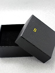 Jewelry Boxes Paper 1pc Black