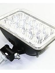 светодиодные фонари аксессуары огни фар Объектив светоотражающие стеклянные бусины 15 5-дюймовый квадратный объектив света фар