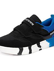 Para Niño-Tacón Plano-Confort-Zapatillas de Atletismo-Casual-PU-Negro / Azul / Rojo / Azul Marino