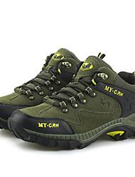 Femme-Extérieure / Sport-Vert / Vert clair-Talon Bas-Travail & Sécurité-Chaussures d'Athlétisme-Daim
