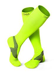Sport® Fahhrad/Radsport Socken Herrn Langärmelige Atmungsaktiv Chinlon Klassisch / einfarbig Grün S / M / L FussballFrühling / Sommer /