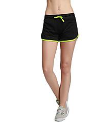 Femme Course / Running Short Mi-long Cuissard  / Short Respirable Séchage rapide Compression Confortable Printemps Eté Automne HiverYoga