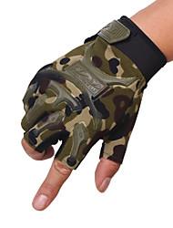 des gants tactiques semi-gants en plein air de doigts physique non slip alpinisme le sport moto de