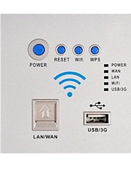 Tick Cabeada Others Network usb socket panel Branco / Prateada