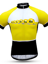 Sports Cycling Jersey with Shorts Men's Short Sleeve Bike Breathable / Quick Dry / Windproof / Sunscreen Clothing Sets/Suits Coolmax