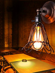The Bird Cage Wall Style Retro Industrial Designer Home Furnishing Bar Aisle Corridor Lamps (Including 1 40W E27 Bulb)