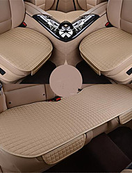 Four Seasons General Car Seat Without A Back Three Piece Summer Linen Cushion Pad