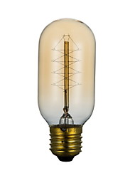 T45 220V 40W Wire Around Edison Light Bulb Edison Corridor Terrace Personality Retro Art Deco Lamp