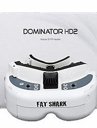 Général Accessoires RC Dominator HD2 Pièces & Accessoires RC Quadrirotor Blanc Plastique 1 Pièce