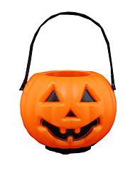 1шт Хэллоуин тыква лампы бар сцены платье детей игрушка конфеты банку тыква лампа