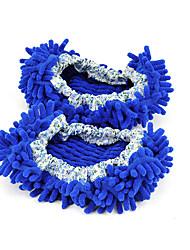 Unisex-Slippers & Flip-Flops-Lässig-Kunststoff-Flacher AbsatzBlau Braun Lila