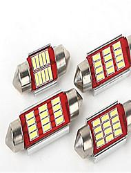декодирование Canbus 36 мм 4014 12 СМД обоюдоострой и светодиодные фонари
