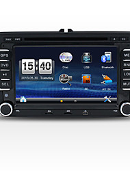 2 Din 7'' Car DVD Player with GPS Navi for Volkswagen SWC Stereo Radio in Dash USB/SD
