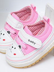 Unisex Sneakers Spring Fall Comfort Cotton Other Animal Skin Outdoor Casual Flat Heel Animal Print Others Blue Pink Red Others
