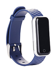Q50 Heart Rate Monitor Smart Bracelet for Android  IOS Waterproof Bracelet w/ Pedometer / Stopwatch- Blue
