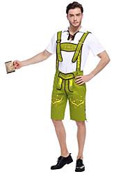 Costumes de Cosplay / Costume de Soirée Fête d'Octobre/Bière / Costumes de carrière / Serveur / Serveuse Fête / CélébrationDéguisement