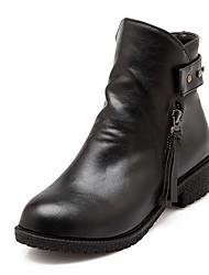 Feminino-Botas-Botas Montaria / Botas da Moda / Botas de Motocicleta / Tenis com Rodinhas / Coturno / Inovador / Botas de Cowboy / Botas