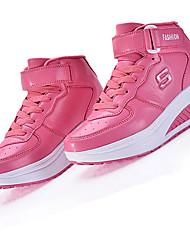 Women's Heels Spring / Fall / Winter Creepers / Comfort Outdoor / Casual Platform Black / Pink / WhiteTrack & Field /