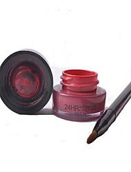 Rouges à Lèvres Humide Crème Gloss coloré / Etanches / Naturel Rouge 1 Other