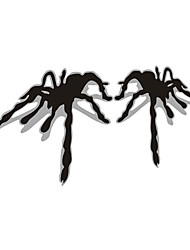 3D spider Car Sticker Car Window Wall Decal Car Styling (2pcs)