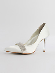 Women's Heels Heels / Pointed Toe / Closed Toe Silk Casual Stiletto Heel Sparkling Glitter