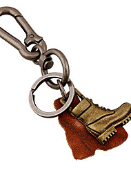 Key Chain / Punk Fashion Key Chain Bronze Metal / PU Leather