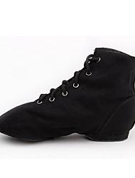 le scarpe da tennis delle donne la primavera / autunno punta chiusa tulle tallone piano / casuale esterno sneaker allacciata nero