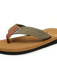 Men's Slippers & Flip-Flops Summer Slippers Customized Materials Casual Flat Heel Ribbon