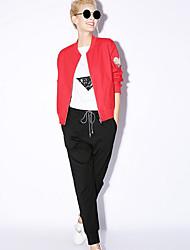 nouvelle avant solide bleu / rouge / noir pantalons de survêtement des femmes pantsactive toutes les saisons