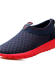 Men's Sneakers Summer / Fall Comfort Tulle Athletic Flat Heel Others Blue / Green Walking / Water Shoes