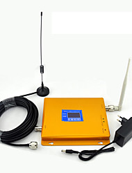 GSM 900mhz DCS 1800mhz Signal Booster Cell Phone Signal Repeater LCD Display / Dual Band