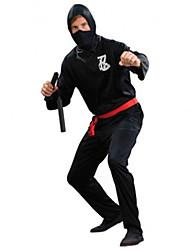 Costumes de Cosplay / Costume de Soirée Pirate Fête / Célébration Déguisement Halloween Noir Couleur PleineCollant/Combinaison / Plus
