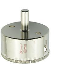furos de vidro aço ferramenta rewin buraco abridor de 2pcs tamanho 60mm / box