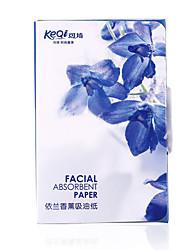 keqi ® иланг запах контроля уровня масла поглощая масло-листов бумаги 80 шт
