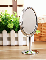 Creative Metal Desktop Makeup Mirror Reversible Magnifying Mirror Small Rotating Mirror 1 2 Magnification Function