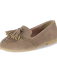 Women's Flats Spring / Summer / Fall / Winter Basic Pump / Styles Chiffon / Linen / Denim / LeatheretteWedding /