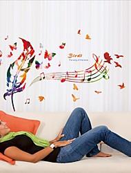 Noël / Musique / Vacances Stickers muraux Stickers avion Stickers muraux décoratifs / Stickers mariage,PVC MatérielAmovible /