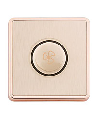 Champagne Gold Plate Drawing Speed Switch