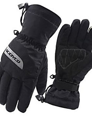 Scoyco compite con los guantes impermeables tocan guantes de moto montar calientes