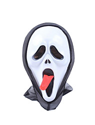 Pour Halloween Blanc Latex Accessoires de Cosplay Halloween