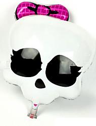 fantômes 1pc film aluminium le ballon pour costume de halloween