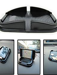 placer un téléphone mobile multifonctionnel mat mat pu support de téléphone portable pour véhicule anti- dérapant de l'automobile