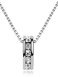 Kettingen Hangertjes ketting Sieraden Dagelijks Modieus Legering Zilver 1 stuks Geschenk
