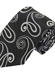 Men Formal Business Casual Neck Tie Polyester Silk