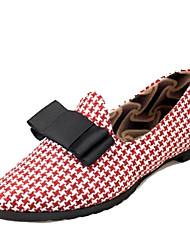 Women's Flats Spring / Summer / Fall Comfort / Ballerina Fabric Outdoor / Casual Flat Heel Slip-on