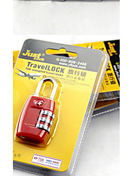 Travel Luggage Lock Coded Lock Luggage Accessory Metal