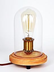 Lampe de table - Traditionnel/Classique/Rustique/Campagnard - Bois/bambou - Protection des yeux