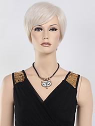 perruque Blonde Perruques pour femmes Argent Perruques de Costume Perruques de Cosplay